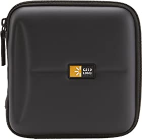 Case Logic CDE-24 24 Capacity Heavy Duty CD Wallet (Black)