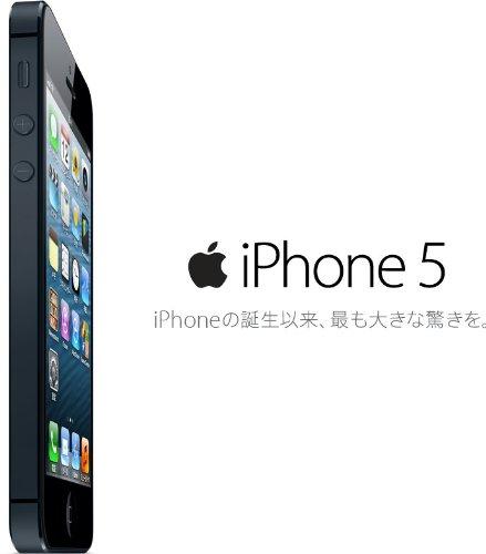 iPhone 5 16GB au [ブラック&スレート] 白ロム