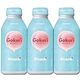 【賞味期限 3.5ヶ月以上】サントリー ゴクリ(Gokuri) ピーチ ボトル缶 400g x 48本