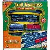 Int'l Express Battery Operated Train Set, 19 Pieces, Fenfa FF B/0 Train Series, International Express ~ Int'l Express