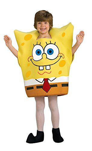 [Sponge Bob Square Pants Child Costume (Medium)] (Spongebob Squarepants Child Costumes)