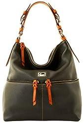 Dooney & Bourke Dillen II Medium Zipper Pocket Sac (Black)