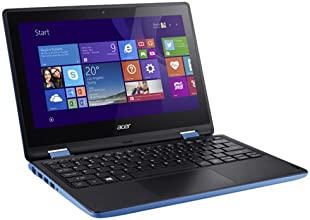 "Acer Aspire R3-131T-C3D0 PC Portable 2 en 1 11"" Tactile (Intel Celeron, Disque Dur 500 Go, 2 Go de RAM, Windows 8.1) Noir/Bleu"