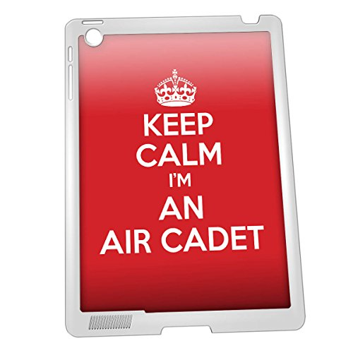Bianco KEEP CALM I 'm stivaletti militari di aria iPad 2/3/4 caso - Idea regalo