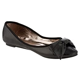 Product Image Women's Xhilaration® Selene Bow Flat Shoes - Black
