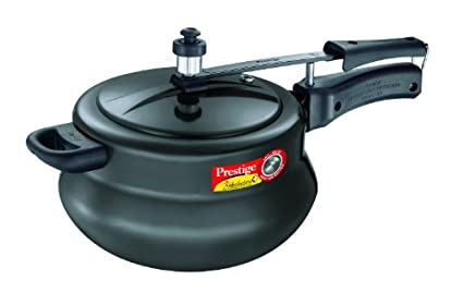 Prestige Nakshatra Plus Hard Anodised Handi 5 L Pressure Cooker (Inner Lid)