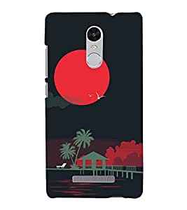 Night 3D Hard Polycarbonate Designer Back Case Cover for Xiaomi Redmi Note 3 :: Xiaomi Redmi Note 3 Pro :: Xiaomi Redmi Note 3 MediaTek