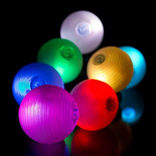 Set Of 3 Magic Led Juggling Ball Super Bright - 9 Modes