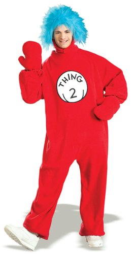 Dr. Seuss Thing 2 Adult Costume
