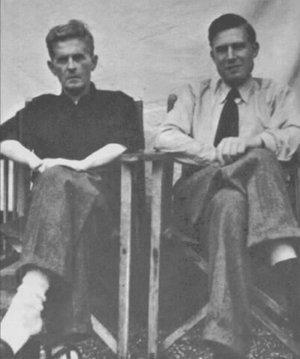 Ludwig Wittgenstein and G. H. von Wright