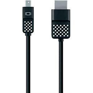 Belkin F2CD044BT12 Mini DisplayPort to HDMI Cable, Black (BelkinF2CD044BT12 ) from Belkin