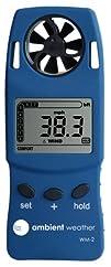 Ambient Weather WM-2 Handheld Weather Meter w Windspeed