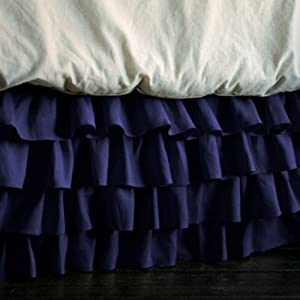 new luxurious multi ruffle bed skirt 300