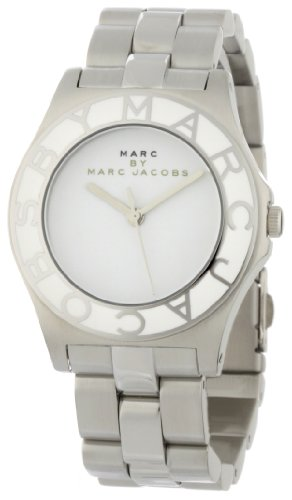 Marc By Marc Jacobs Women'S Mbm3048 Blade White Dial Watch