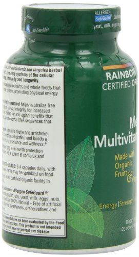 Rainbow Light 润泊莱 Organic Men's Multivitamin 男性有机综合维生素 120片 $15.2(可S&S)图片
