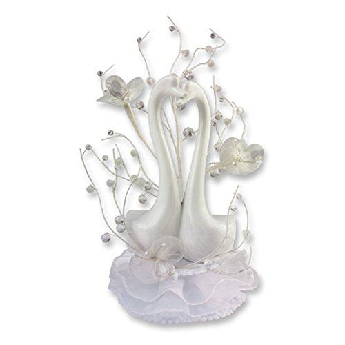 gunthart-porzellan-aufsatz-mit-hochzeits-schwanen-und-blumendekoration-verpackt-in-dekorativem-sicht
