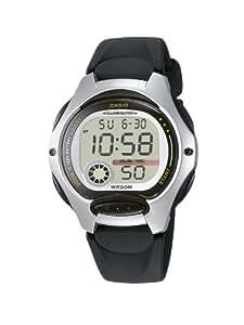 Casio - LW-200-1A - Sports - Montre Femme - Quartz Digital - Cadran LCD - Bracelet Résine Noir
