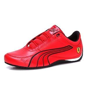 Pume Drift Cat Ferrari SF Red Mens Trainers (10 UK, Rosso)