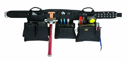 Custom Leathercraft 5605XL Professional Carpenter s Combo 18-Pocket 5 Piece Extra LargeB0006GUGE8 : image