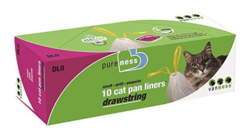 Pureness Small Drawstring Cat Pan Liners, 10 Count (Pureness Cat Pan compare prices)