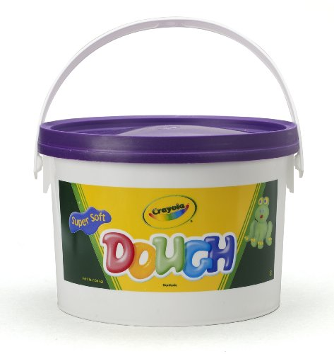 Crayola Dough 3-lb Bucket-Purple