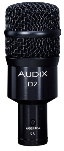Audix D2 Hypercardioid Instrument Microphone