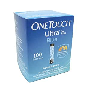 History of OneTouch Test Strips. The OneTouch Test Strip was developed by LifeScan, which is a subsidiary of the Johnson & Johnson corporation. LifeScan's stated mission is to allow persons with disabilities to live a life without limits, and the OneTouch was intended to allow them to check their blood sugar levels without drawing a.