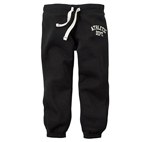 Carter s baby boys knit fleece pants baby black 18m apparel