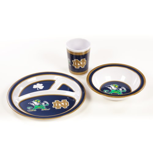 NCAA Notre Dame Fighting Irish Kid's Dish Set (3-Piece) - 1