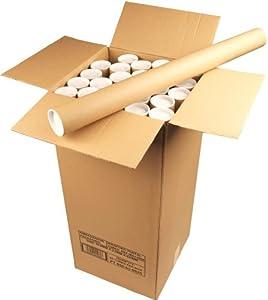 Ambassador Cardboard Postal Tube Box of 25 - 50mm x 890mm diameter
