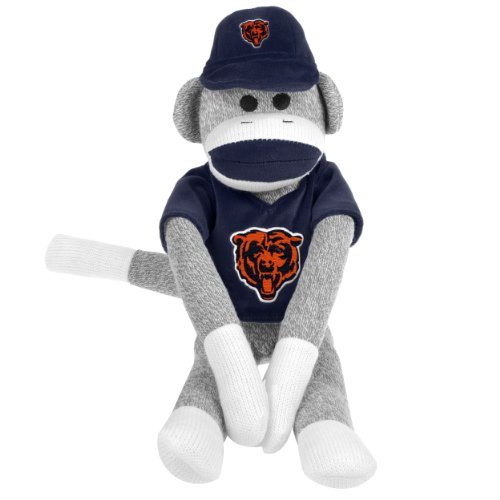 NFL Chicago Bears Uniform Sock Monkey at 'Sock Monkeys'