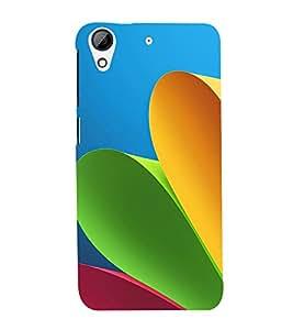 Colourful Paper 3D Hard Polycarbonate Designer Back Case Cover for HTC Desire 626 :: HTC Desire 626 Dual SIM :: HTC Desire 626S :: HTC Desire 626 USA :: HTC Desire 626G+ :: HTC Desire 626G Plus