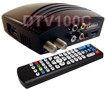 Digital 1080p ATSC Clear QAM TV Tuner With USB DVR Recording + Media Player Support