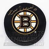Zdeno Chara Boston Bruins Signed Autographed Bruins Large B Logo Hockey Puck