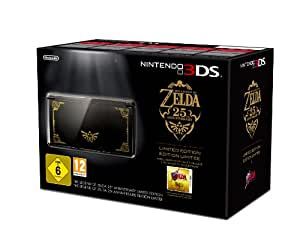 3DS Konsole schwarz + The Legend of Zelda: Ocarina of Time 3D