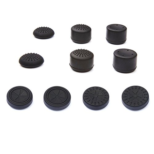KELUX Thumb Grips 10 Pack for PS4 Controllers
