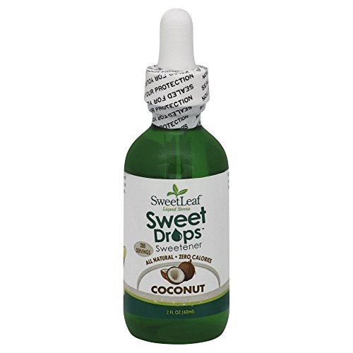 Sweet Leaf Sweet Drops Liquid Stevia Coconut, 2 Ounce - 3 Pack