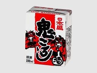 日本盛 鬼ころし 紙容器 180ml x5 4904070031062