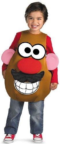 Deluxe Mr. Potato Head Costume - Toddler Medium front-68189