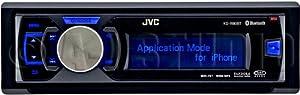 JVC KDR80BT Dual USB-CD Bluetooth Receiver AUX Input