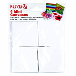 Reeves Mini Canvas, 4-Pack