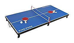 Planet of Toys Wooden Ping-Pong Table (Blue)