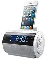 Sony ICF-C11IPW.CED Radio réveil AM/FM avec Station d'accueil  pour iPod/iPhone 5 Blanc