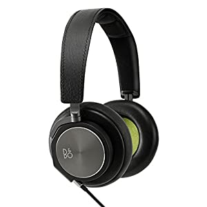 Bang & Olufsen BeoPlay H6 Headphones in Leather and Aluminium - Black