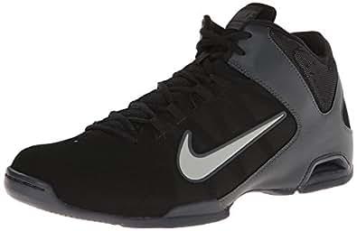 Nike Mens Air Visi Pro IV NBK Black/Mid Grey/Anthrct/Anthrct Basketball Shoes, 7 D(M) US