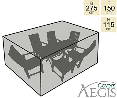 """Aegis Schutzhülle """"Premium"""" für rechteckiges Gartenmöbel-Set (115cm x 275cm x 150cm) jetzt kaufen"""