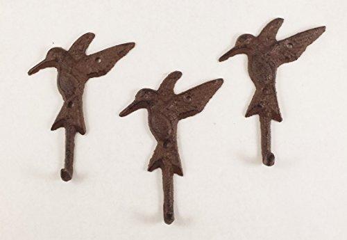 Cast Iron Hummingbird Single Hook -