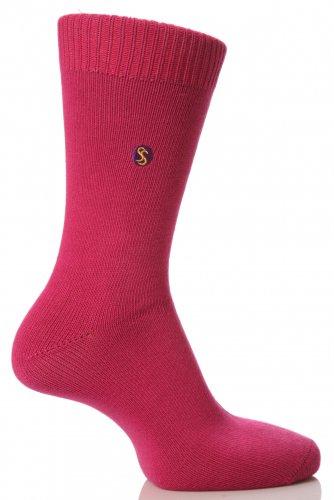 SockShop Farbexplosion Socken aus Baumwolle für Männer - 11 bis 14 Männer - Saphir