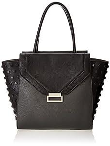 Ivanka Trump Sophia Shopper Shoulder Bag,Charcoal,One Size