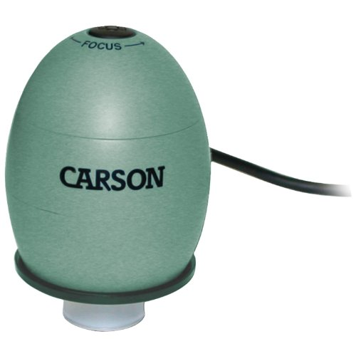 Carson Zorb Usb Digital Microscope With 53X Optical Zoom, Safari Green (Mm-480G)